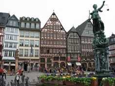 Frankfurt is the business and financial center of Germany and the largest city in the German state of Hesse. The city is known for its futuristic skyline and the biggest German airport.