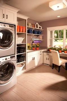 laundry room office. model home traditional laundry room detroit vanbrouck u0026 associates office k