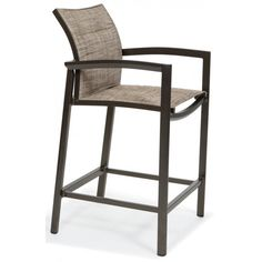 Our Vision padded sling bar stool offers a contemporary design with a soft, relaxed sling seat. The relaxed sling is slightly loose which not only adds comfort but also an easier way to change out the sling in the field. The aluminum extrusions have exceptionally heavy walls, some with multiple inner webs for strength. Order online today at http://contractfurniture.com/product_detail.php?prodID=9096 or call us 800.507.1785