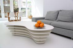 Stijlvolle witte betonvloer!