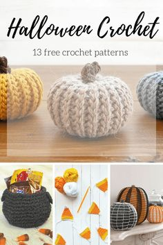 13 FREE Halloween crochet patterns | I picked out a bunch of free Halloween crochet patterns that you can create in an afternoon or less! | picotpals.com