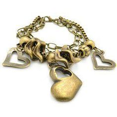 Paparazzi Brass heart bracelet $5 https://www.facebook.com/PaparazziDawnMarie