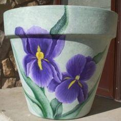 painted clay pots - Google Search Flower Pot Art, Mosaic Flower Pots, Terracotta Flower Pots, Clay Flower Pots, Flower Pot Crafts, Clay Pot Projects, Clay Pot Crafts, Painted Clay Pots, Painted Flower Pots