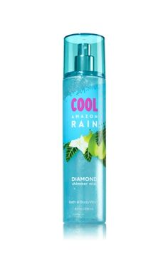 Cool Amazon Rain - Diamond Shimmer Mist - Bath & Body Works - Dazzle with diamonds! Infused with beautiful shimmer, our luxurious Diamond Shimmer Mist kisses skin with irresistible scent and gorgeous sparkle for our most glamorous way to fragrance.