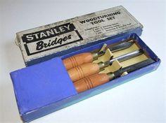 Boxed Stanley Bridges Woodturning Chisels @ www.theoldtoolshed.co.uk