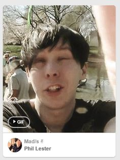 I love when you get a really great derp face before you start a GIF... #phillester #amazingphil