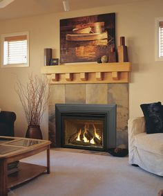 All About Gas Fireplaces | Direct vent gas fireplace, Vented gas ...