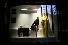 Ralph Lauren windows at Bond street, London visual merchandising
