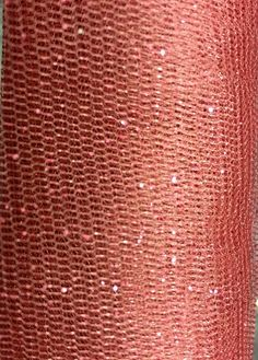 "Glitter Tulle in ""Rose"" $2.95/yd 58"" wide #tulle #glittertulle #apparel #textilediscount"