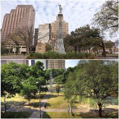 The area including Travis Park was once part of the upper farmlands of Mission San Antonio de Valero (today called the Alamo).