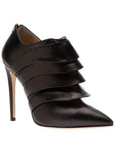 Jerome Rousseau Black  Diammant  Bootie Schuhe Absätze Stiefel, High Heel  Stiefel, Stiefel bafba701d9