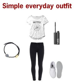 A fashion look from November 2015 featuring slouchy tees, dark wash skinny jeans and white flat shoes. Browse and shop related looks. Back To School Outfits, Everyday Outfits, Denim Vans, Paige Denim, Nars Cosmetics, Abercrombie Fitch, Feather, Stone, Polyvore