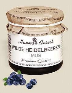 """Blueberries are carefully collected by hand in the Polish National Park """"Tuchola Heath"""" and gently processed to purée. This delicious purée contains over 70% fruits but only 36g total sugar. awesome"""