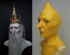 Realistic Ice King And Lemongrab Busts Will Make You Glad That #AdventureTime Isn't Live-Action
