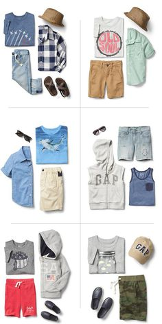 What to wear - Boys