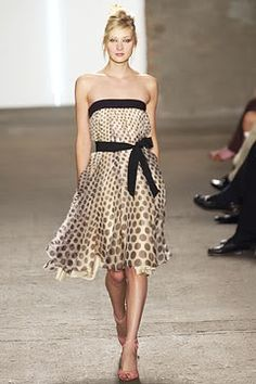 #MARCtheDOT #DotGirlsCocktailHour #Crowdtap DKNY polka dot cocktail dress