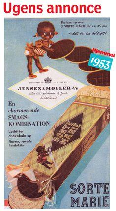 Smuk gammel dansk reklame