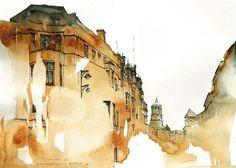 Architectural-painting-Sunga-Park-2