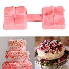 Silicone Flower Cake Mold Fondant Decorating Baking Chocolate Mould DIY Craft Tool