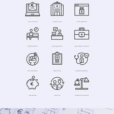 Free Healthcare Iconset Icons AI Free Graphic Design Health Icon Outline PSD Resource Vector