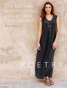 Poetry - (UK) New Spring Summer 2013 Collection Now Available