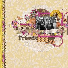 Template: Facebook freebie (from July 2014) offered by Tickled Pink Studios   Kit: Life is Wonderfall by Meagan's Creations