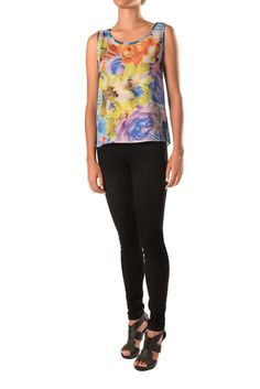 Floral Tank Floral, Fashion Design, Collection, Tops, Women, Flowers, Flower, Woman