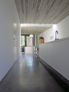 davy nekkebroek architect, vloerplaat in beton