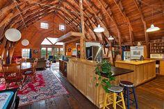 Unique Barn Style House Conversion in Washington