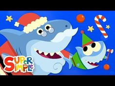 Baby Shark is back with a new holiday classic; Sing along to this Christmas song for kids! Merry Christmas everyone! 🎶Santa shark, ho ho ho, h. Baby Shark Christmas, Christmas Songs For Kids, Christmas Program, Preschool Christmas, Merry Christmas Everyone, Christmas Music, Christmas Activities, Christmas Themes, Christmas Videos