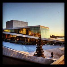 Oslo Opera House, Oslo, Norway