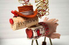 Image result for Wine Cork Reindeer Ornament