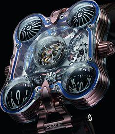 MB&F HM6 SV \'Sapphire Vision\' Watch Nears $400,000 | aBlogtoWatch