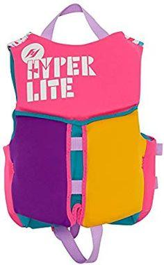 8890cdcb2 Amazon.com : Hyperlite Girls Child Life Vest Toddler (30-50Lbs) :