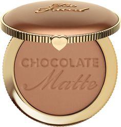 Too Faced Schokoladen Soleil Matte Bronzer - Makeup Tips Highlighting Too Faced Chocolate Soleil, Chocolate Soleil Bronzer, Too Faced Bronzer, Makeup Goals, Makeup Tips, Beauty Makeup, Makeup Ideas, Beauty Dupes, Makeup Geek