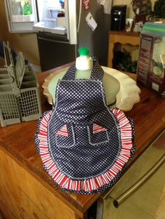 Apron For dish soap