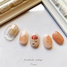 Soft Nails, Simple Nails, Red Nails, Red Nail Designs, Simple Nail Designs, Cute Nails, Pretty Nails, Japan Nail Art, Nail Art Techniques
