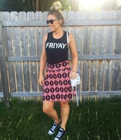 rock, STYLE, teach: My Favorite LuLaRoe Skirt