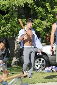 And baseball. He's amazing at baseball. | 14 Photos That Prove Zac Efron Is A Spectacular Human