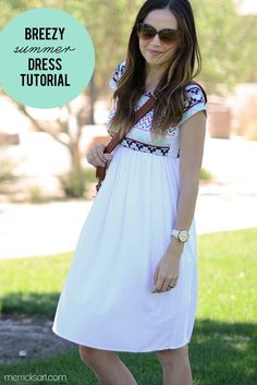 Merrick's Art // Style + Sewing for the Everyday Girl: SKIRT TO DRESS REFASHION (TUTORIAL)