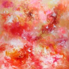 Art Nrshinga - Stunning Abstract Art for Sale - Buy Large Abstract paintings and Modern Art for your home or office,Affordable British Art by Paresh Nrshinga Abstract Art For Sale, Abstract Flowers, Summer Art, Online Art Gallery, Artwork, Original Art, Interiors, Floral, Artist