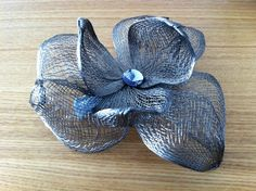 Handmade Flowers, Diy Flowers, Fabric Flowers, Ribbon Jewelry, Lace Jewelry, Burlap Crafts, Wire Crafts, Burlap Flower Wreaths, Millinery Supplies