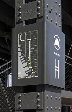 High Line Parc, NYC — Pentagram