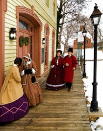 """Capture the spirit of Christmas Past at Ohio Village, our recreated 19th-century community in Columbus located at the Ohio History Center, during """"Dickens of a Christmas."""""""
