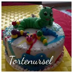 Raupen Torte Birthday Cake, Desserts, Food, Pies, Cake, Tailgate Desserts, Birthday Cakes, Meal, Dessert