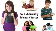 52 Kid-Friendly Bible Memory Verses
