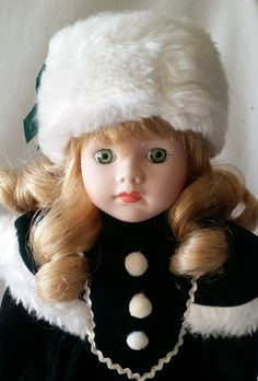 Anastazia ~ Vintage Porcelain Haunted Doll ~ Ice Skater ~ Russian Doll ~ Paranormal Active Spirit, Young Girl, Drowning Victim by FugitiveKatCreations on Etsy