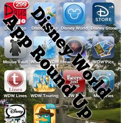 Picturing Disney | Disney World App Roundup for Smartphones