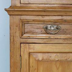Nice Details - Antique Danish Pine Cupboard
