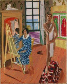 Henri Matisse. The Three O'Clock Sitting, 1924